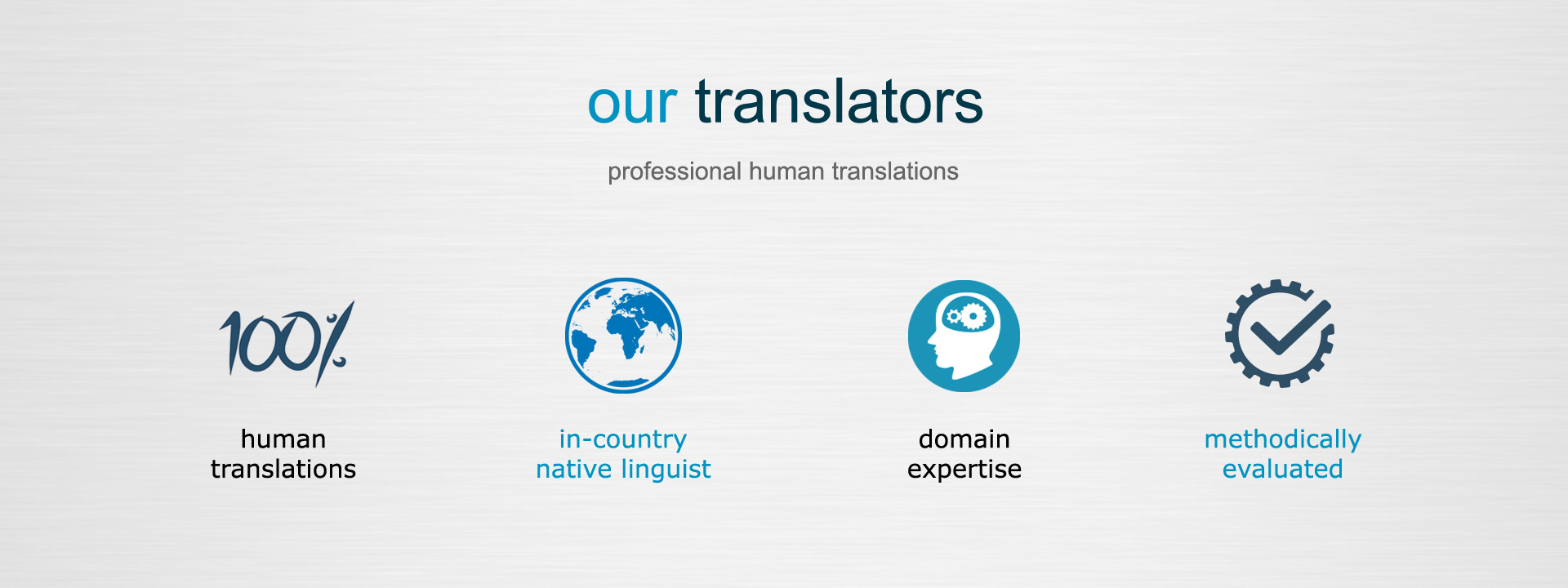Our translators